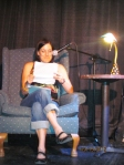 Megan Nyce reads an excerpt from her high school journal during My Teenage Angst. (Contributed Photo)