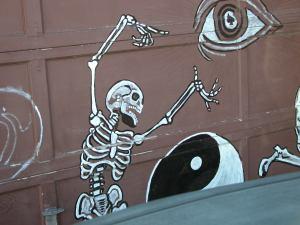 Alley Art 1578 Jasmine Dia de Los Muertos