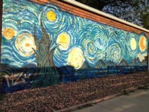 Alley Art 2800 Magnolia van Gogh