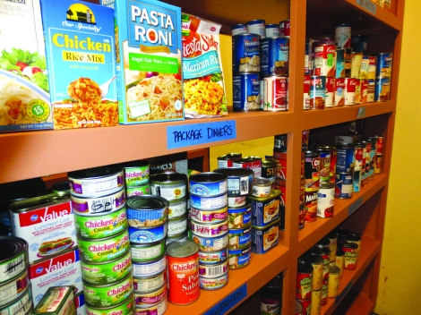 Food Pantry 8 - Well Stocked Pantry