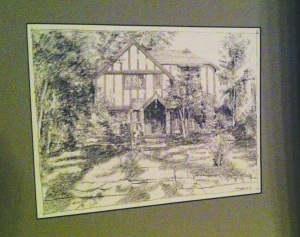 Home Tour Heroes - Framed Sketch of 1936 Hudson Street
